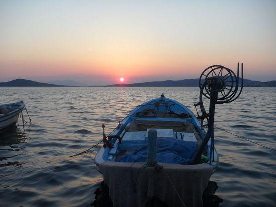 Ayvalik 🐚🐳🐬🏊 Balıkesir Missing Summer Beautiful Sunset Wooden Boat And The Sea ıwanttogoback Andnevercomeback