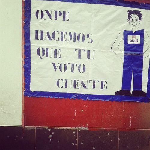 En estas Elecciones que tu Voto cuente EleccionesenLima Onpe Votoinformado igersperu lima regidores