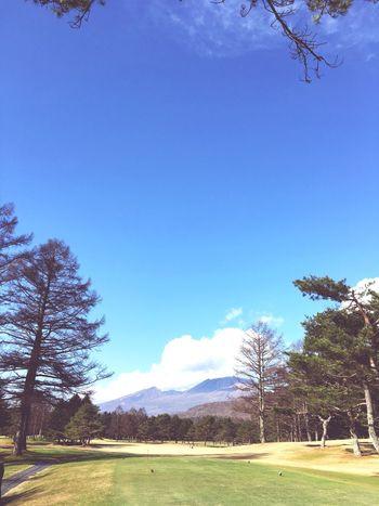 浅間にまだ雪が無い Fineday 軽井沢 Nowplaying Relaxing