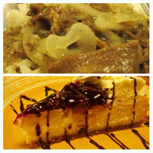 From Creamy Beef Steak from Blueberry Cheesecake , Inangbina's have them! Check out my review on this cafe: http://asecretfanfare.blogspot.com/2014/05/first-food-trip-at-inangbinas-cafe-and.html || Follow4follow Foodporn Cheesecake Blueberry Angono Rizal Foodtrip Followback