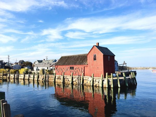 Motif No. 1 Waterfront USA Eastcoast Massachusetts New England  Motif 1 Rockport Ma Harbor Harbour View