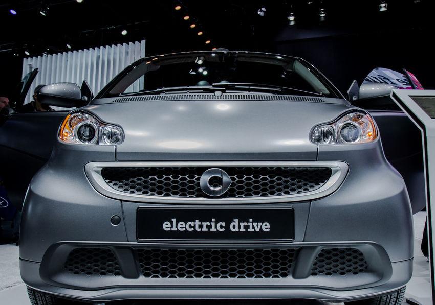 Car Close Up Close-up Detroit Auto Show 2014 Full Frame Headlight Land Vehicle Smart Car Transportation