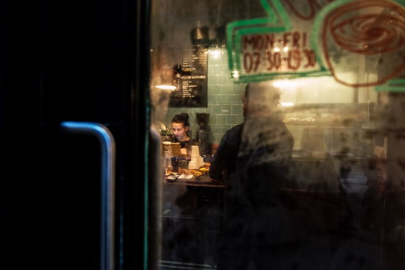 Bar Rain Streetphotography Night Real People Illuminated Two People Men Indoors  Bar Counter Lifestyles People Standing Women