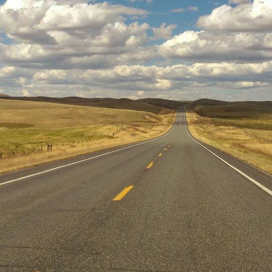 The long way home. MontanaMontanFine Art Photography