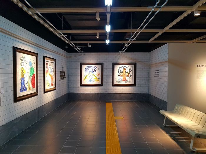 Pop Art Comtemporary Modern Gallery Inspiring Exhibition No People Architecture Day