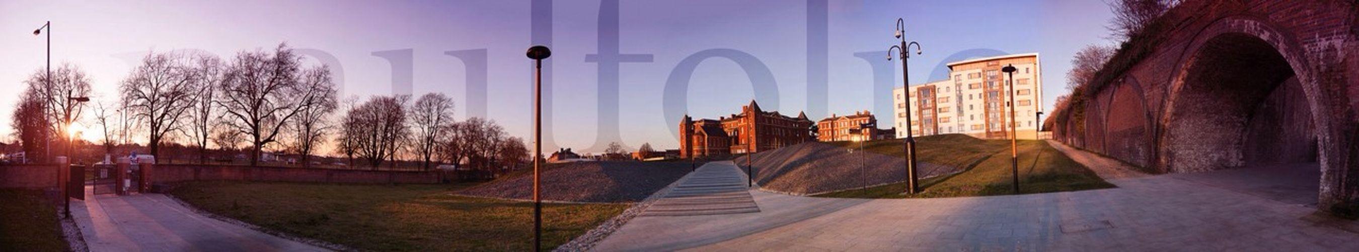 Worcester University Worcester Uni Uni Sunset City