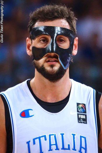 Marco Belinelli, delusione post sconfitta nella finale del preolimpico di basket di Torino. Basket Sport Preolimpico Torino Nikonphotography