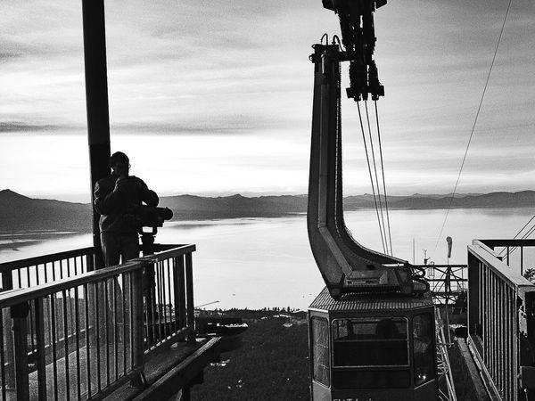 Shades Of Grey Blackandwhite Black & White EyeEm Best Edits Lake Tahoe Tallac Taking Photos Tram