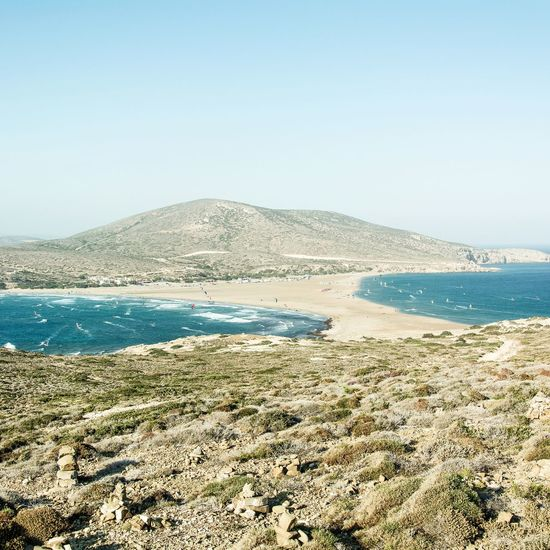 Beach Sea Nature Water Beauty In Nature Outdoors Clear Sky Day Summer Seascapes Sea Side Seaside_collection Seaview Beauty In Nature Landscape Folklife Travel Photography Summertime Summer Vibes Nature_ Collection  No People Live For The Story Greece Islands Greece Memories Greece Landscapes