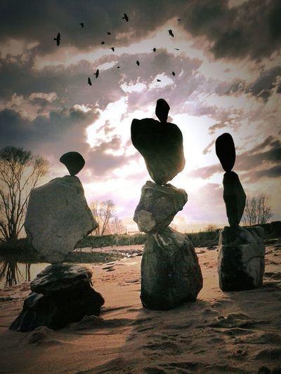 Showcase April Rockbalance Sculptures My Creativity The KIOMI Collection