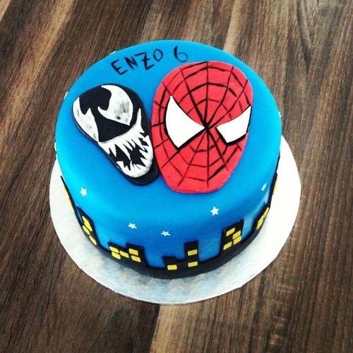 Spiderman Cake Design Nantes SugarSugarNantes
