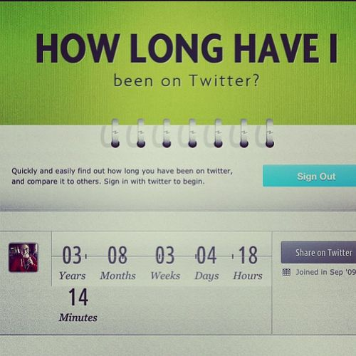 That's a lot of tweeting ! Twitter Thematthewhill