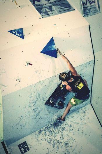 Freeclimbing Extremesport Bulder