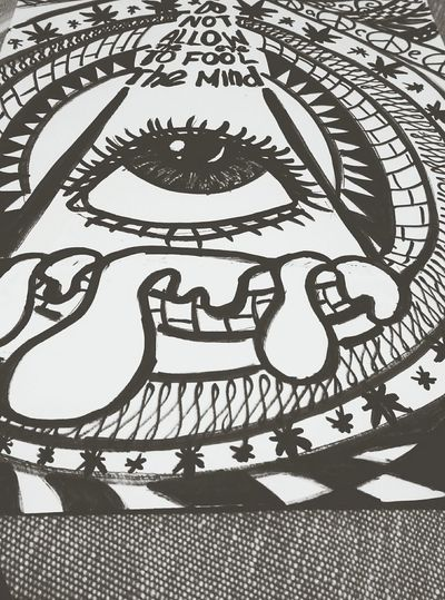 Drawing Do Not Allow The Eye To Fool The Mind