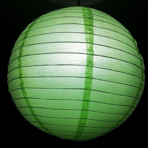 Chinese Style Lamp Green