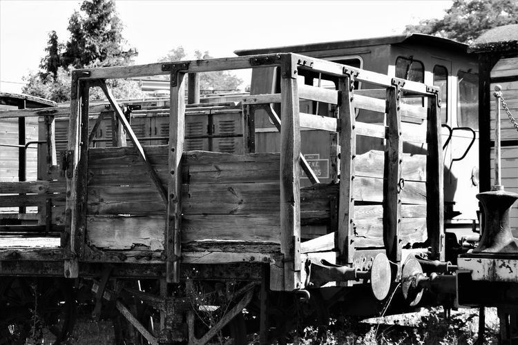 Black & White Normandie Normandie, France Old Train Station Old Wagon Abandoned Abandoned Train Abandoned Train Depot Black And White No People Outdoors