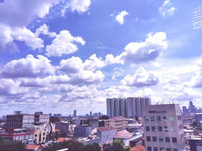 Jakarta Sky.....