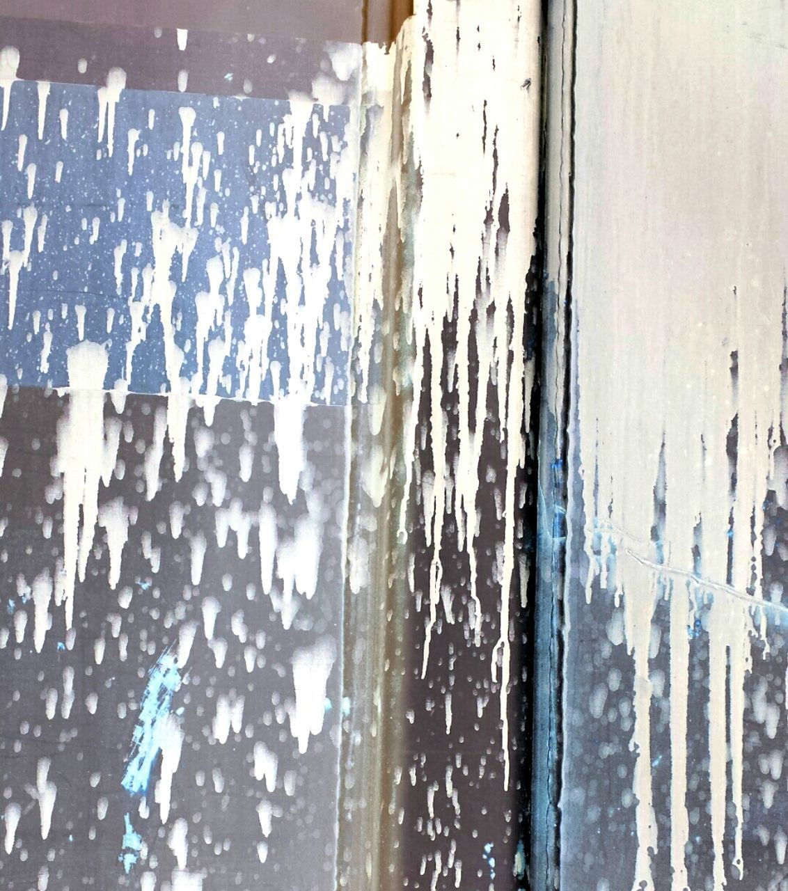 weathered, window, indoors, backgrounds, day, textured, paint, close-up, water, full frame, no people, architecture