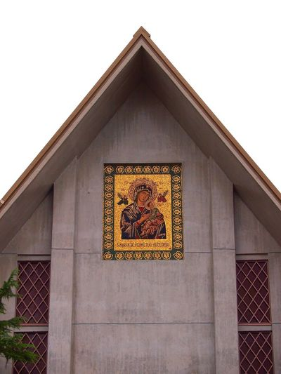 Architecture Building Exterior Church Wall Wall Art Wall Painting Religion Religious  Religious Architecture Religious Art