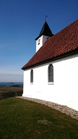 Here's the Small Church in Egens also in Mols It's beautifully situated with a View over a Bay Architecture Showcase April Kirke