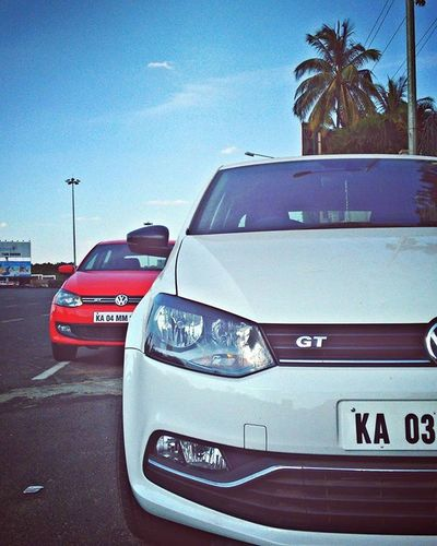 The Polo GT Couple. 😊 Dasauto VW Volkswagen Vwlove Pologt Pologttsiclubofindia TSI Automotive PhonePhotography Asimphotography