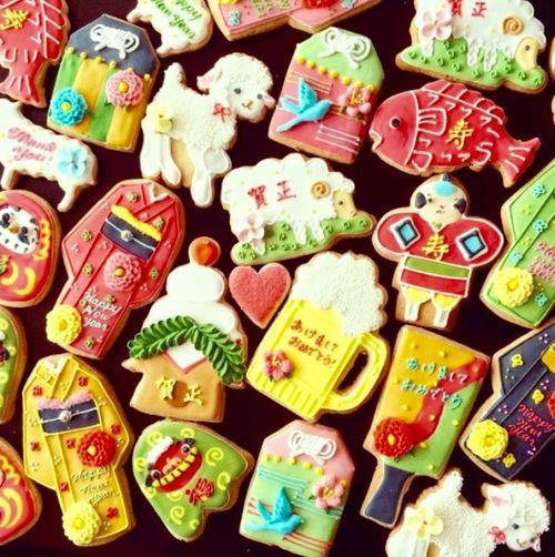 Icing Cookies Micarina Cookies Food Japan