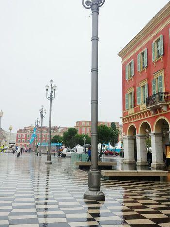 Nizza Nice Nice / Nizza France Francia Place Square Piazza Rainingday Costaazzurra