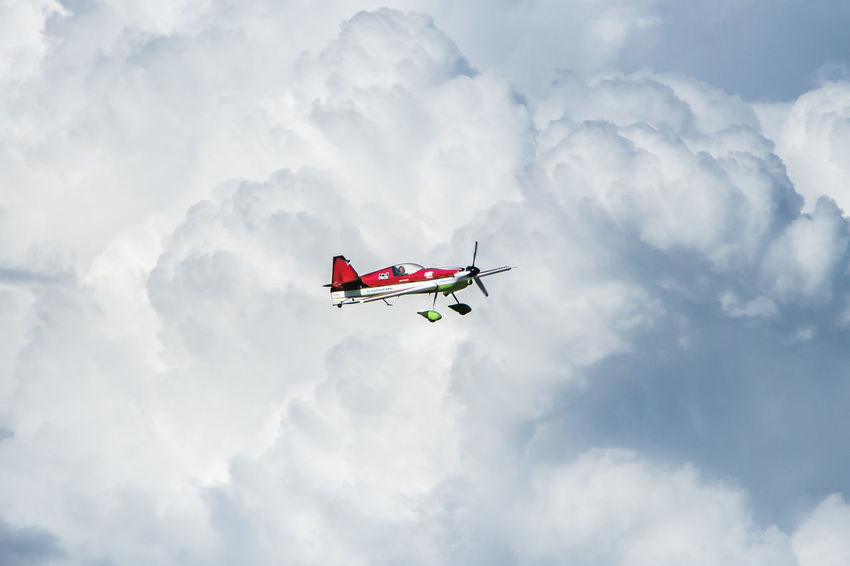 Air Vehicle Aircraft Alone Cloud - Sky Contrast Dramatic Sky Fly Flying Flying High Freedom Height King Of Stars Mid-air Midair Over The Clouds Sky Space Speed Sport Sports Airplane Transportation Travel Veres Zoltán Vereszoltan Vereszoltan