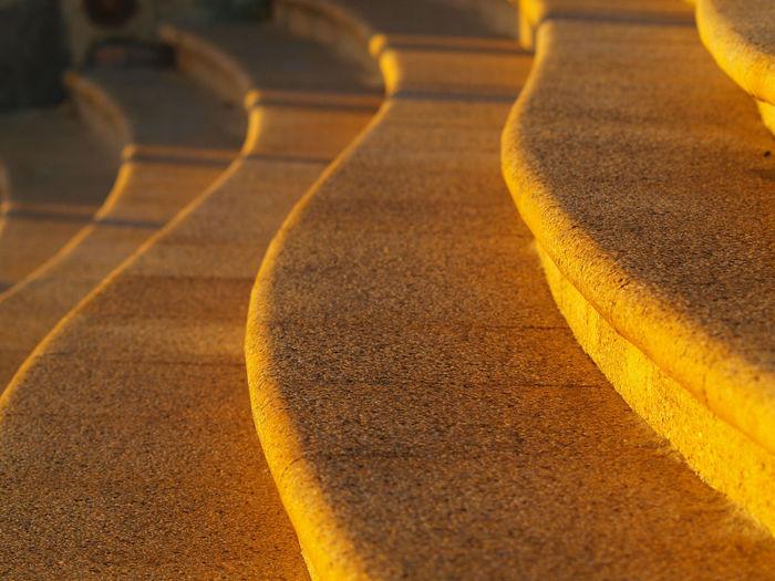 Full frame shot of steps