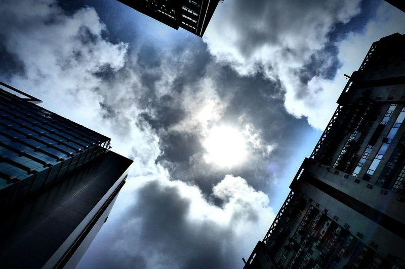 clouds. Hong Kong Discoverhongkong DMC_CM1 Leica Mobile Photography Lookingup Clouds Hkigers Instagramers Kwaichung