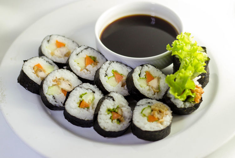 sushi Food And