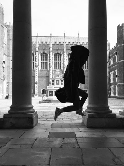 The Magic Mission Hampton Court Palace England Ghost Medieval Horror Black And White Blackandwhite Photography People And Places