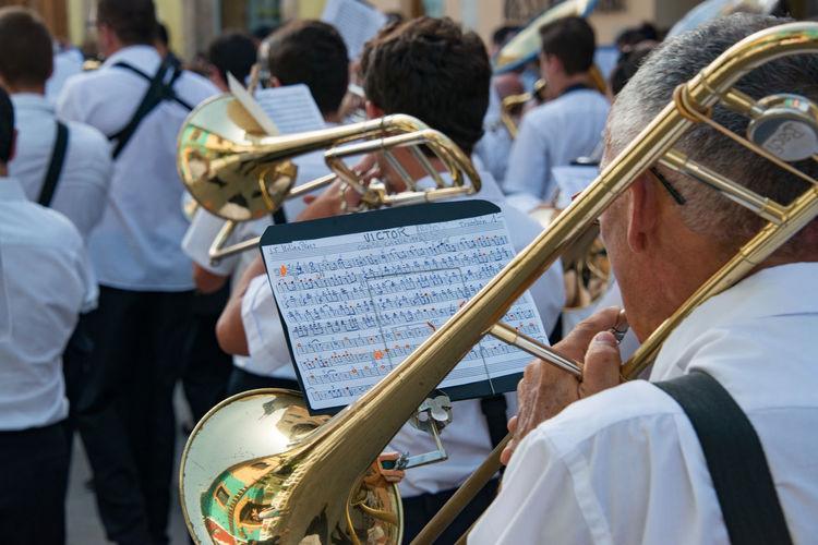Festival Christians i Moros Band Chorus Musician Trombone