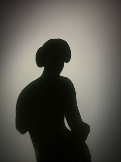 Bourdelle Light Light And Shadow Women Silhouette Real People One Person Standing Wall - Building Feature Waist Up Lifestyles Shadow Adult Focus On Shadow Inner Power