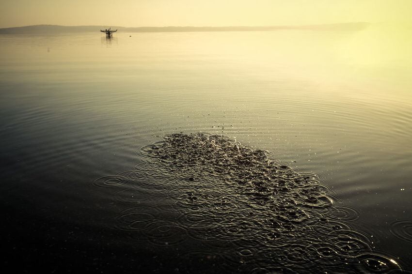 Beach Beauty In Nature Day Horizon Over Water Lake Landscape_Collection Nature No People Outdoors Reflection Sand Scenics Sea Sky Sunset Tranquility Water Wave