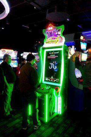 Night Illuminated Lighting Equipment People Men Neon Adult Annual Event Arcade Videogames Arcade Games Arcade Machine Arcade Game Playing