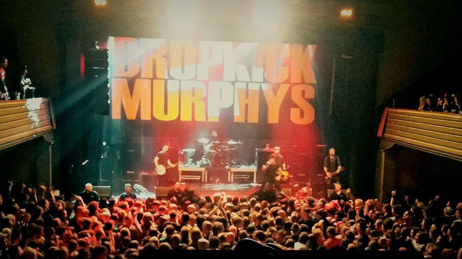 Awsome Concert FuckingAwesome Dropkick Murphys Volkshaus Concert