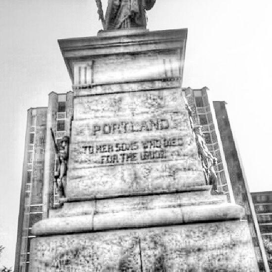 Monument. Portland Maine 207 Statue @Instag_app blackandwhite bw black white bnw mono nb igersbnw bw_lover monochrome bwoftheday blancinegre blancoynegro byn bwstyles_gf bwbeauty bandw irox_bw noir noiretblanc noirlovers nero ic_bw _bw bw_society monoart