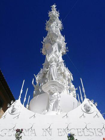Macchina di Santa Rosa 2016 Santarosa Religion Catholic Catholic Faith FaithSnow Tower White Beautiful Viterbo Italy Patron Saint Love