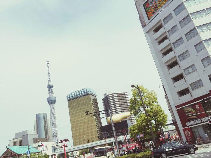 Enjoying Life Hello World Quality Time Ontheroad Tokyoskytree スカイツリー見えた!😆😆