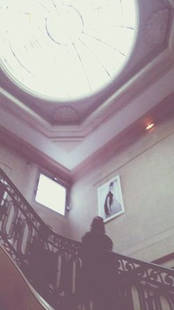 Esmod Paris Stairs Inside softly. Ambiance Pale Faded Layers Perspectives
