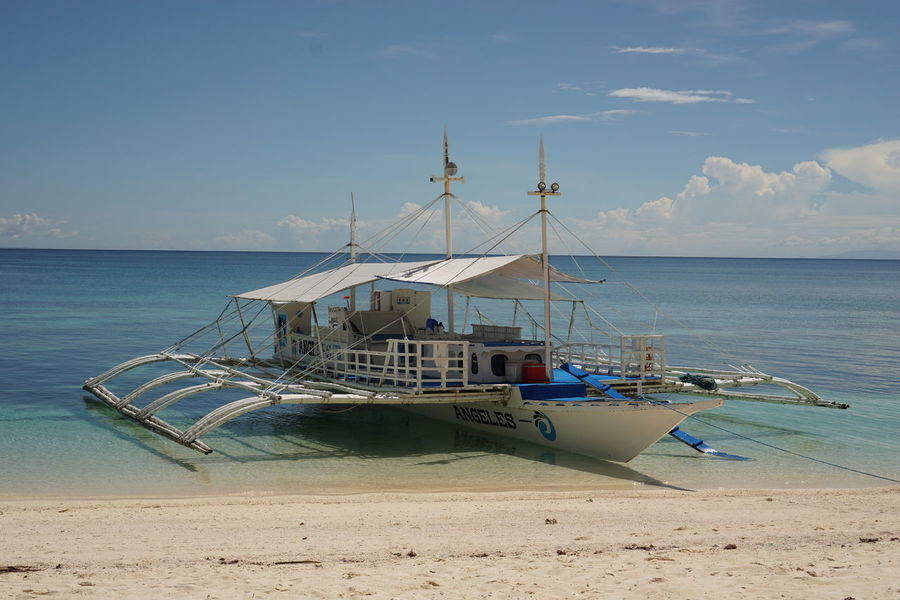 Boat Motor Boat Nautical Vessel Outrigger Boat Sea Sea Transport Sea Travel Seascape Transportation