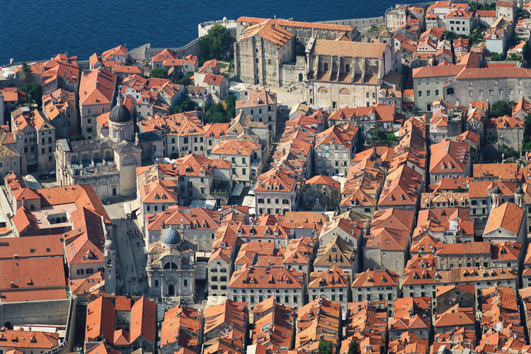 Dubrovnik, Croatia Building Exterior Architecture Built Structure Residential District Building Roof House Crowded City Town Day High Angle View Crowd Cityscape Community TOWNSCAPE Travel Destinations Sunlight Outdoors Roof Tile Old Old City Center Dubrovnik Croatia
