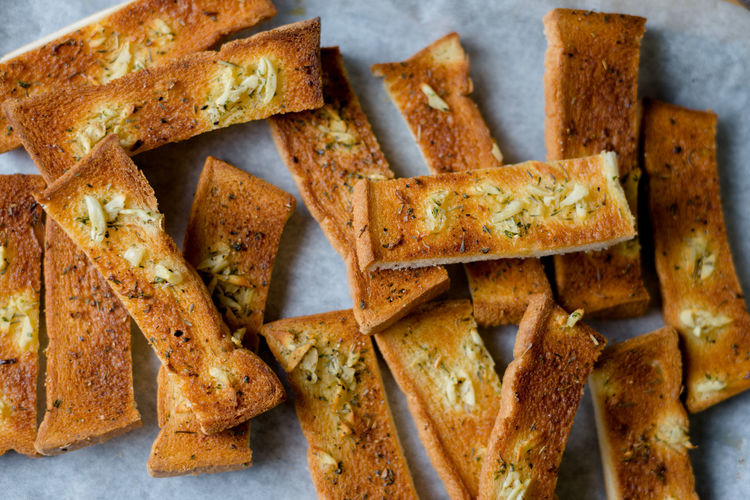 Homemade Baguette Baked Baked Pastry Item Bread Bread Sticks  Brown Bread Close-up Day Food Food And Drink French Food Freshness Garlic Bread Healthy Eating Indoors  Loaf Of Bread No People Ready-to-eat SLICE Snack Toasted Bread