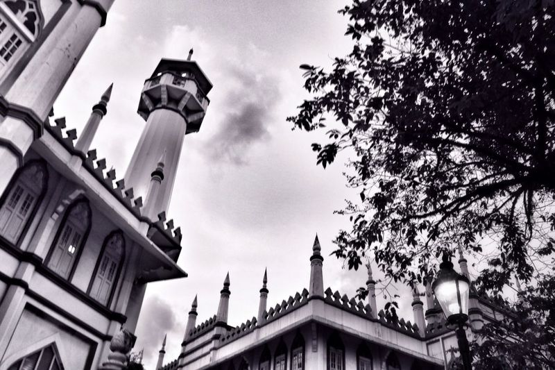 The Sultan Mosque Near And Far Landscape EyeEm Best Shots Black And White
