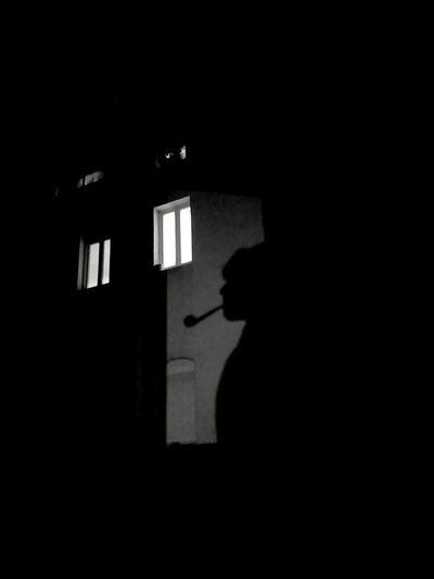 Window Shadow Indoors  Dark Real People Lifestyles One Person Silhouette One Man Only Domestic Room People Adult Only Men Adults Only Tranquility B & W Portrait Black Background