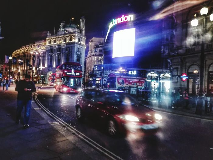 Night Car Illuminated City Transportation Land Vehicle People Nightlife Police Force Large Group Of People Outdoors Building Exterior Architecture Adult Cityscape Adults Only Londonlife LONDON❤ London London_only London Lifestyle Piccadilly Piccadillycircus