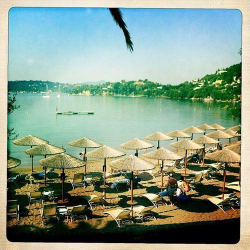 Morning Swim Corfu Greece beach sea august 2012 igdaily instamood picoftheday igaddict igerslebanon
