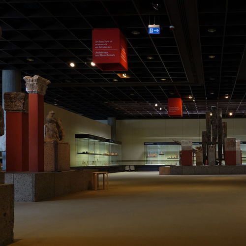 RGM Römisch Germanisches Museum Köln Architecture Nice Interior Don't Kill It Römer In Köln Illuminated No People Indoors  Communication Built Structure Text Lighting Equipment Red Ceiling Building Low Angle View Guidance Archeology Cologne Köln Museum Old Style Vitrine Red Let It Be