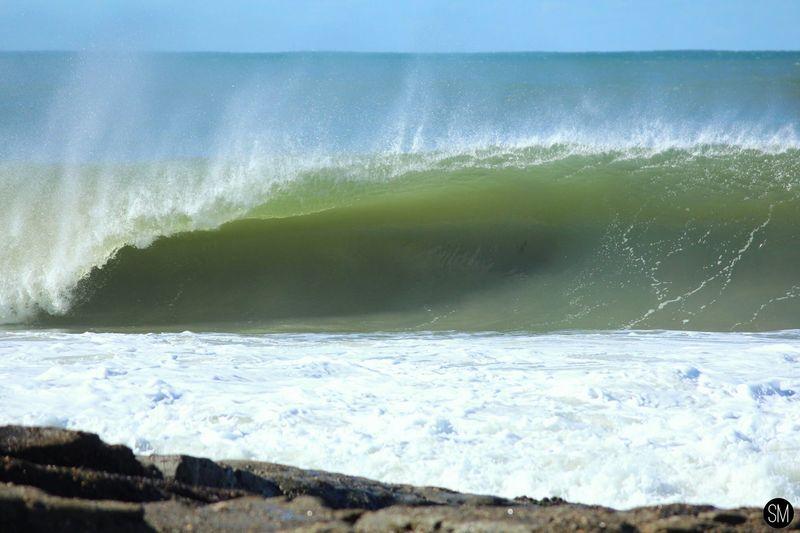 Green Machine Canon Landscape Beach Photography EyeEm Best Shots EyeEmNewHere Water Wave Sea Motion Sport Aquatic Sport Surfing Nature Power Outdoors Power In Nature Beach